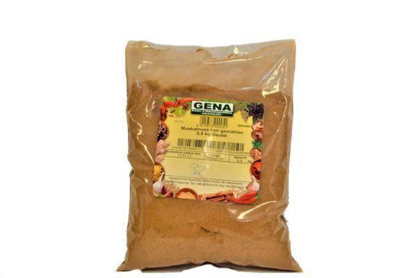 Muskatnuss gemahlen 0,5 Kg /Gena