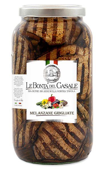 Melanzane grigliate 3100ml/Le Bonta Del Casale