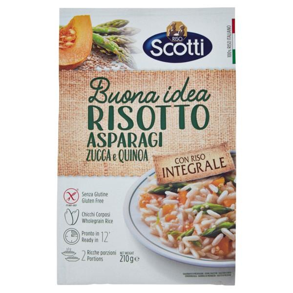 Risotto Integrale Asparagi e Zucca 210 g / Scotti