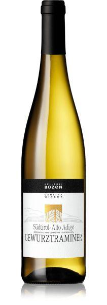 Gewürztraminer Südtirol DOC 0,75l 14,5% - 2019 / Kellerei Bozen