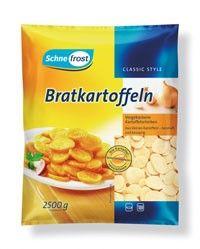 Bratkartoffelscheiben 2,5kg. Beutel / Schne frost