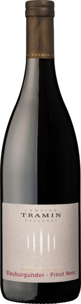 Blauburgunder - Pinot Nero Südtirkol Alto Adige DOC 0,75l 13% - 2019 / Tramin