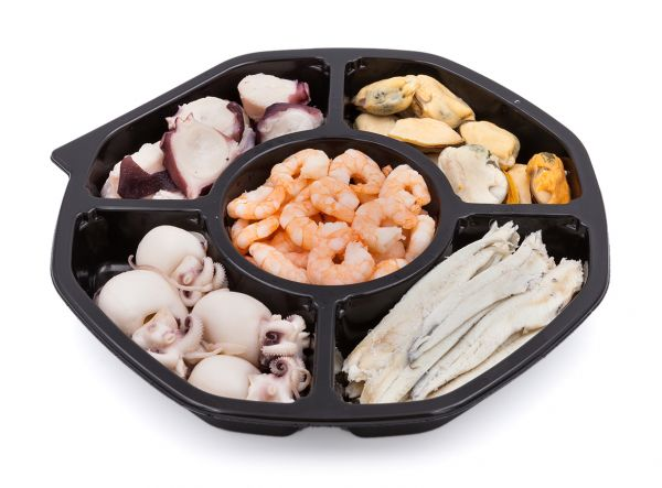 Mixplatte Meeresfrüchtevorspeise in Öl 550g/Renna