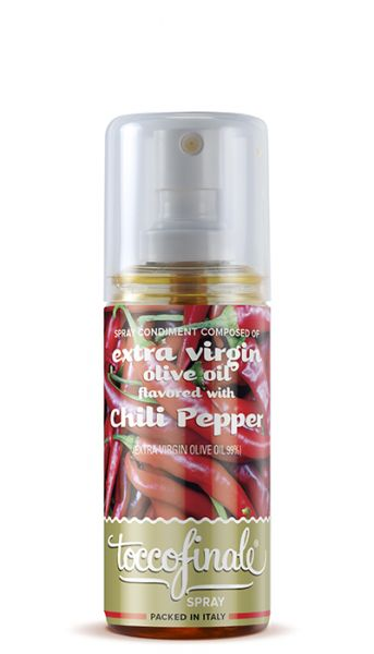 Condimento Spray Olio extra Vergine d´oliva Peperoncino Olivenöl 60 ml / Verde Oro
