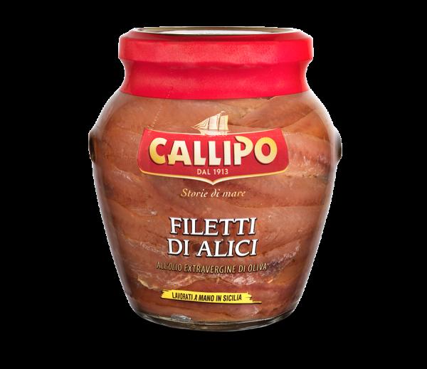 Filetti di Alici all´Olio Extravergine di Oliva 75g / Callipo