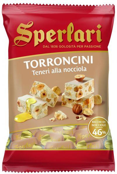 Torroncini Teneri mit Haselnüssen 130g/Sperlari