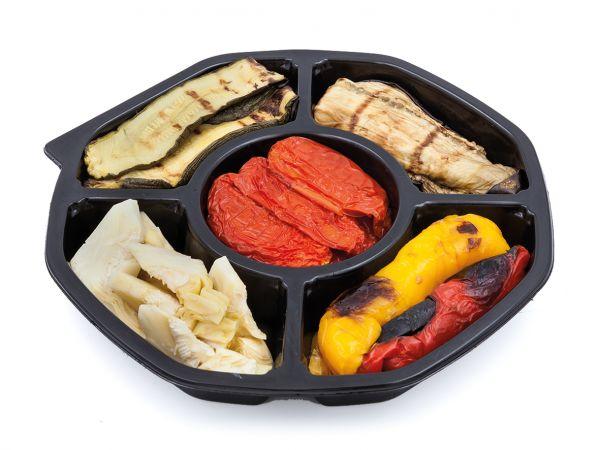 Mixplatte Vorspeise mit gegrilltem Gemüse in Öl 550g/Renna