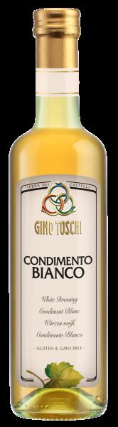 Condimento Bianco - Weißweinessig Würze 500ml/Toschi