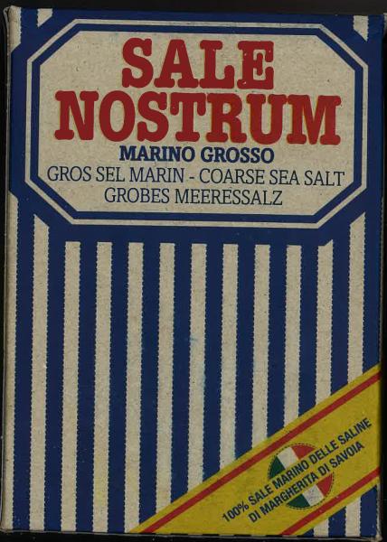 Grobes Meersalz 1 kg / Piazzolla Sali